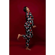 Sshhh Love Print Pyjamas Set